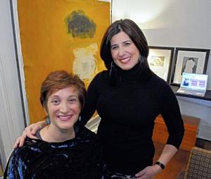 Lisa & Ellen In The Office