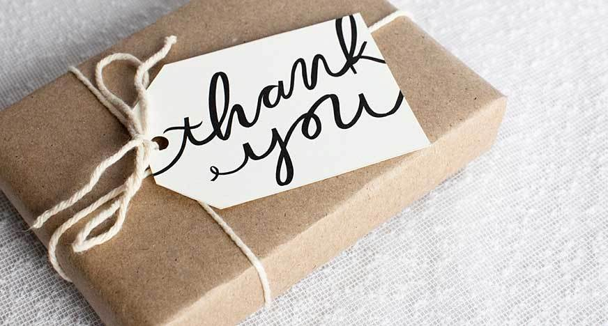 Caregiver Thank You Gifts